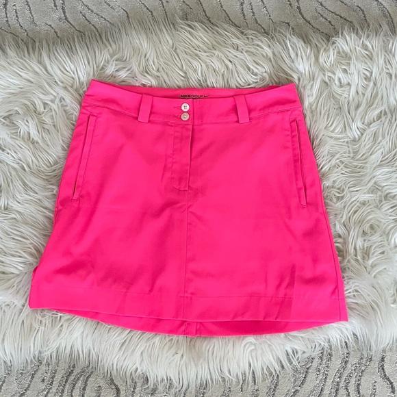 Nike Golf Dri Fit Hot Pink Skort